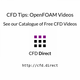 CFD Tips: OpenFOAM Videos