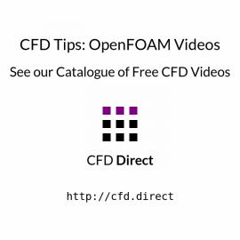 CFD Tips: OpenFOAM Videos