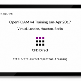 OpenFOAM v4 Training 2017