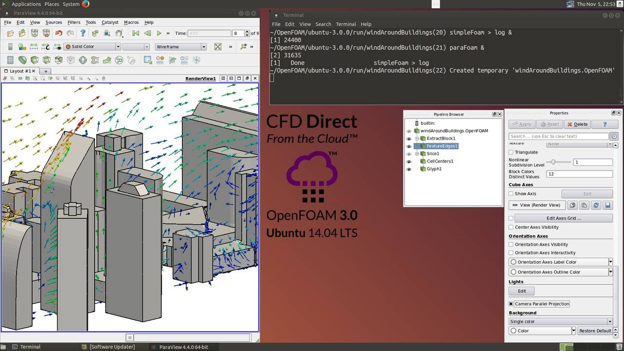 CFD Direct from the Cloud Remote Desktop