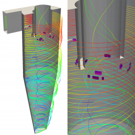 OpenFOAM Barycentric Tracking