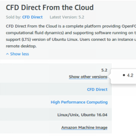 CFD Direct From the Cloud AWS C5/M5