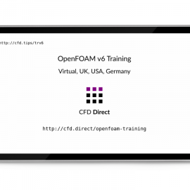 OpenFOAM v6 Training | CFD Direct