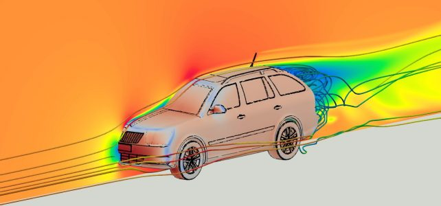 External Aerodynamics of a Vehicle with OpenFOAM