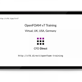 OpenFOAM v7 Training | CFD Direct