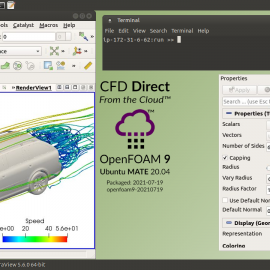 CFD Direct from the Cloud 9 Remote Desktop
